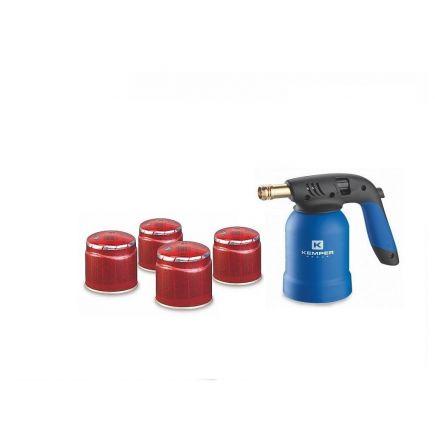 Kemper gaasipõleti +4 gaasi 190g